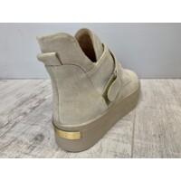 Carla Ricci magasszárú cipő bézs