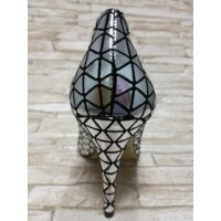 Baldaccini cipő ezüst tűsarkú
