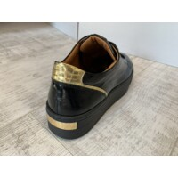Bioeco platformos talpú fekete cipő