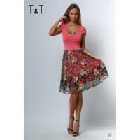 T&T ruha Evelin rövid ujjú loknis