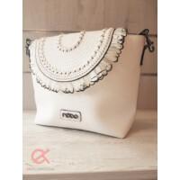 Prestige táska tollas fehér