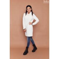 Tara tunika kötött Nerina fehér