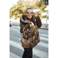 Tara kabát Sheryl barna