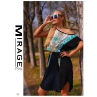 Mirage Roy zöld-fekete tunika