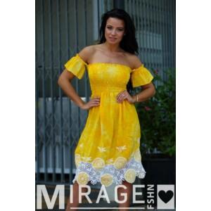 Mirage ruha Mia horgolt aljú