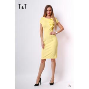 T&T ruha Anna elöl fodros rövidujjú