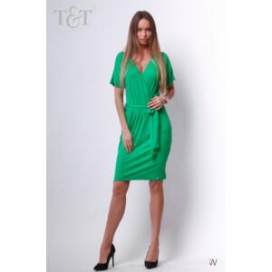 T&T Julcsi V kivágású öves ruha