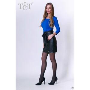 T&T Alba öves bőrhatású miniszoknya