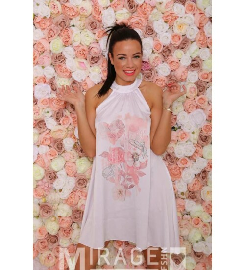 Mirage ruha Ruby laza virág mintás