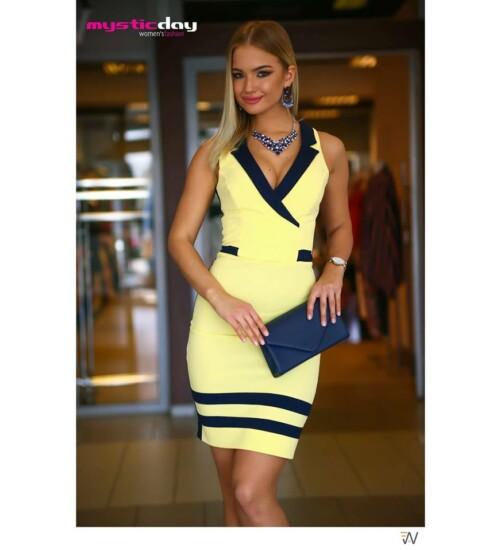 ed24c2580b Alkalmi ruhák Mystic Day Lotte galléros ruha