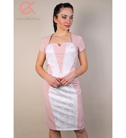 Mónika T&T ruha, egyedi dekoltázs kialakítással