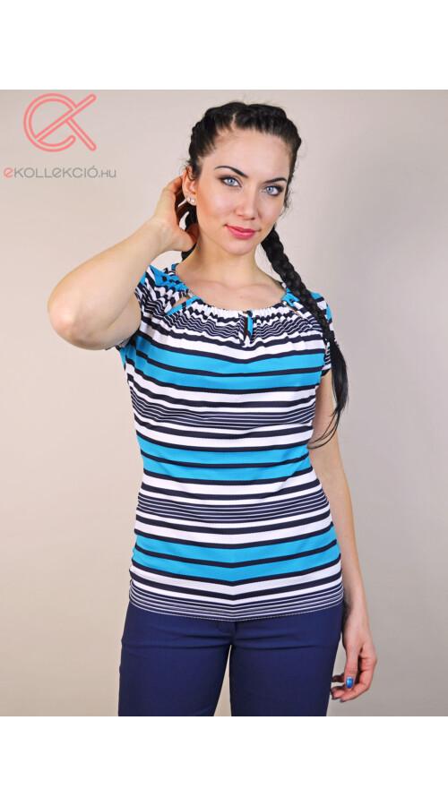 3fca7f493b Tara bogyós nyakú csíkos póló Katt rá a felnagyításhoz