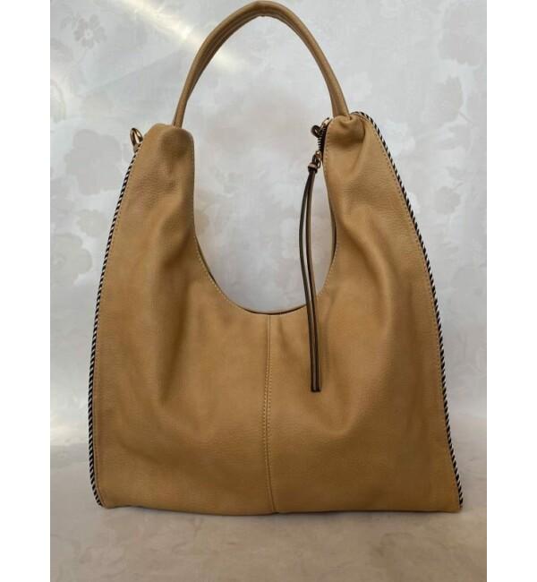 Rostbőr táska bézs