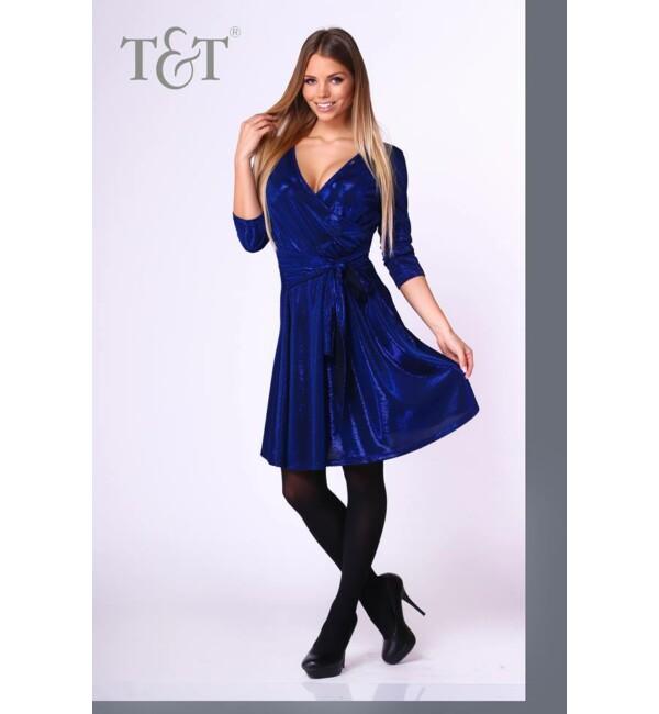 T&T Donna kötős, loknis, átlapolt ruha